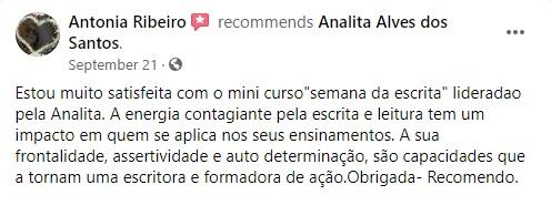 MINICURSO SEMANA DA ESCRITA